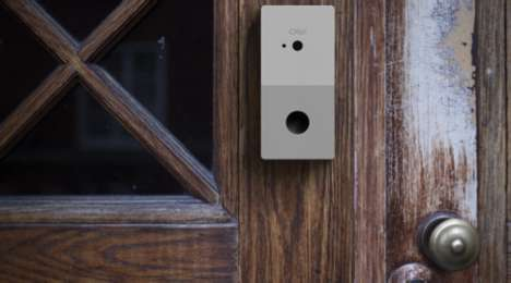 Facial Recognition Doorbells - The Chui Offers Revolutionary Secure Access to One's Home