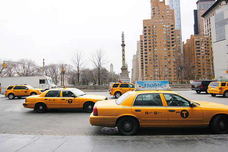 Taxi Routing Maps - This NYC Taxi Project Recounts a Day in the Life of a Cabbie