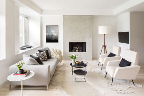 Modern Megacity Duplexes - NYC Interior Design Renovated This Modern Duplex