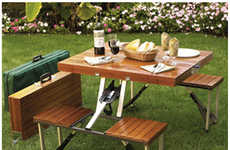 From Potted Furniture Pieces to Grassy Picnic Tables