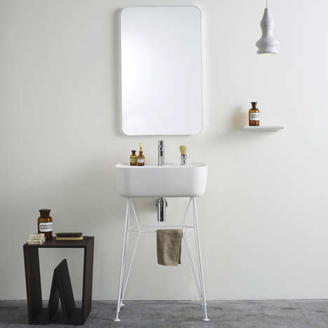Furniture-Inspired Sinks - The Gus Washbasin by Michael Hilgers is Crafted with Perfection