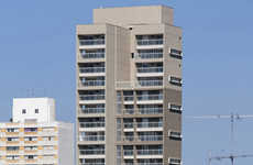 Slender Concrete Condos - The Unitt Urban Living Tower is Slim and Practical