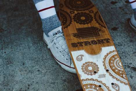 Modelo Especial Presents: Vintage-Inspired Skate Decks