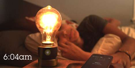 Smart Lightbulb Devices - The Emberlight Converts Regular Lightbulbs into Smart Bulbs