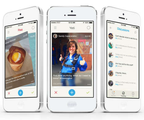 Experience Exploring Apps - Yeti App Lets People Have Discussions and Discover Their Interests