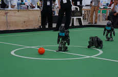 Robotic Soccer Tournaments - The World Cup for Robots Will Help Ease the Void for FIFA Fans