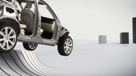 Hyper-Safe SUVs - The Volvo XC90 Includes an Array of