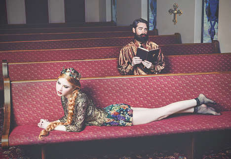 Suggestively Sacrilegious Photography - Glassbook Magazine