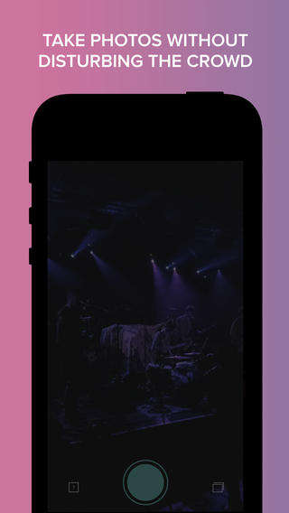 Considerate Concert Apps - The Kimd App is for Taking Pictures at Concerts Without Disturbing Others