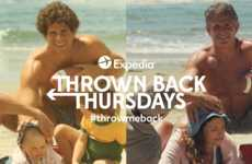 Expedia's 'Throw Me Back' Recreates #TBT Photos from Summers Past