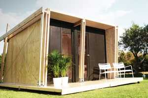 The Vivood Shelter Can Be Easily Assembled in Just One Day