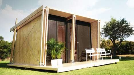 Compact Modular Shelters - The Vivood Shelter Can Be Easily Assembled in Just One Day