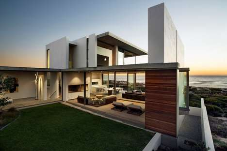 Coastal Dune Abodes - Gavin Maddock Designed a Contemporary Home in South Africa