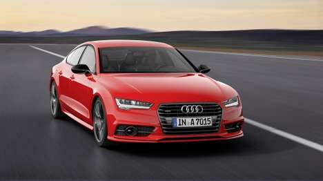 Powerfully Upgraded Cars - The Audi AZ Sportback 3.0 Competition is a Diesel Audi A7 on Steroids