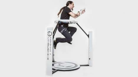 Movement-Translating Gaming Rigs - The Cyberith Virtualizer Lets Gamers Walk, Run, Jump and Crouch