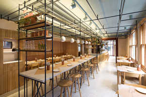 The Opso Restaurant Combines Greek and British Design