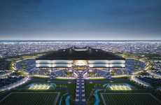 Tent-Inspired Soccer Stadiums - Qatar's Al Bayt Stadium is Being Designed for the 2022 World Cup