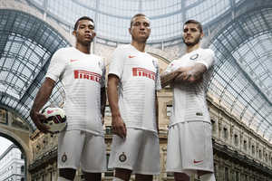 The New Inter Milan Away Kit Was Designed by Nike