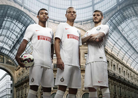 Ribbed Soccer Jersey Designs - The New Inter Milan Away Kit Was Designed by Nike