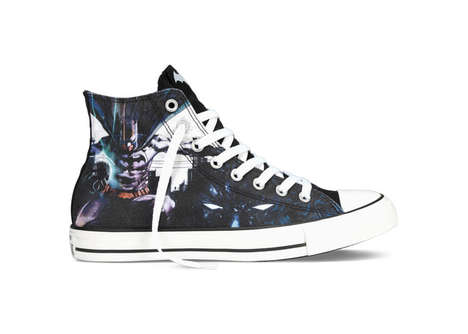 Comic-Inspired Sneakers - The Chuck Taylor All Star DC Comics Sneakers Feature Superman & Batman