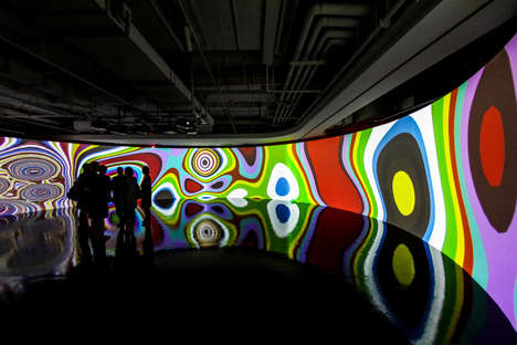 Organic Visual Installations -