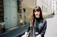 Spontaneous French Editorials - Alena Gaponova Photographed this Parisian Editorial for C-Heads