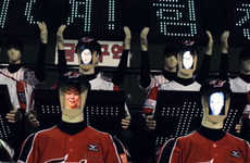 Robotic Baseball Fans - The Hanwha Eagles Baseball Team is Cheered by Robot Fans