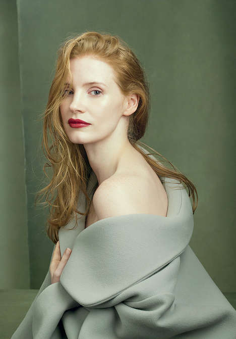 Famous Redhead Editorials - Vogue US Celebrates Ginger Actors, Models, Athletes and Singers