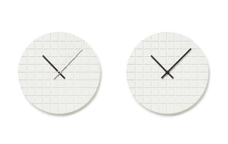 Minimalist Grid Clocks - The 00 Clock by Assembly Design is Inspired by Abstract Qualities