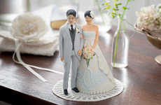 Mariage Poupée Makes 3D-Printed Personalized Wedding Toppers