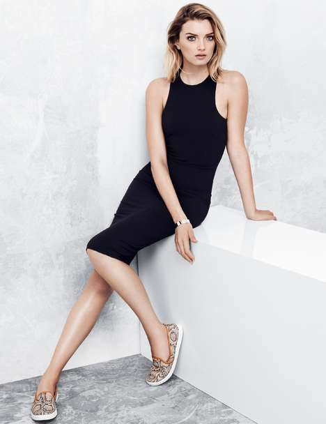 Sporty Chic Lookbooks - The Latest H&M Style Update Stars Model Lily Donaldson