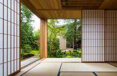 Intimate Nature-Based Abodes - The House in Nara is One with the Surroundings