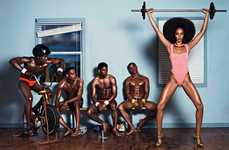 Fashionable Faux Fitness Editorials