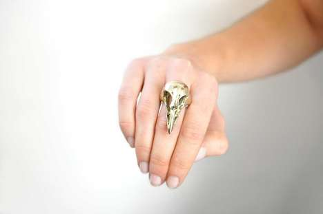Fashionable Fowl-Inspired Jewelry - The Bone Couture Line of Adornments is Inspired by Birds