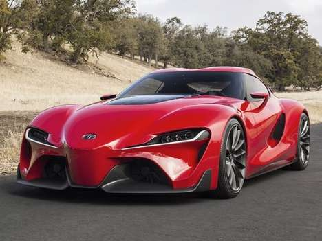Eco 80s Sportscar Revivals - The New Toyota Supra Sports Three Electric Engines
