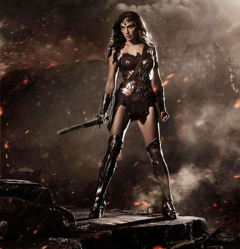 Stormy Superhero Stills - Zack Snyder Releases the First Image of Gal Gadot as Wonder Woman
