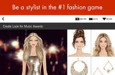Shoppable Dress-Up Games
