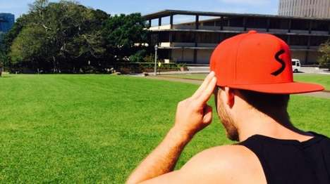 Bluetooth Baseball Caps - The Snaptrax Baseball Cap Connects With Your Smartphone Via Bluetooth