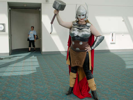 Female Thor Cosplayers - Fans Embrace a New Marvel Hero at This Year