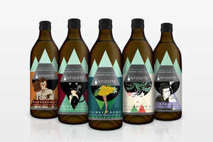 Antidote's Juice Packaging Tells a Story for Its Unique Benefits