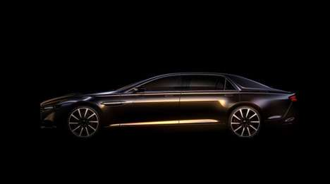 Limited Edition Luxury Cars - The New Aston Martin Super Saloon Will Only be Sold in the Middle East