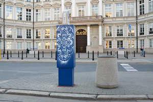 NeSpoon Polska's City Decor Graffiti Project Resembles Lovely Lace Patterns