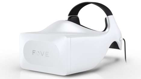 Futuristic Eye-Tracking Headwear - The Fove Head-Mounted Display Contains Eye-Tracking Technology