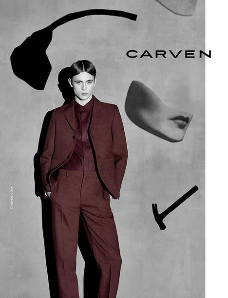 Modern Surrealism Catalogs - Gustaaf Wassink Fronts Carven