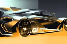Turbocharged Concept Cars - The High-Performance McLaren P1 GTR Will Go Into Production in 2015