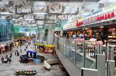 Airport Street Food Courts - Singapore Food Street is an Airport Food Court with Local Street Food