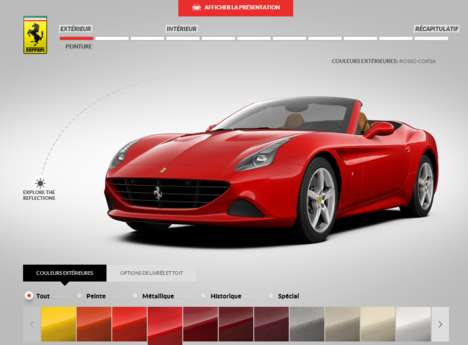 Car Customization Sites - Ferrari