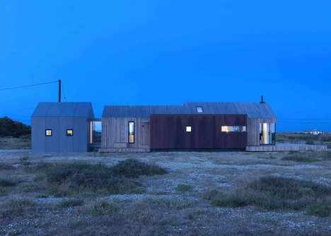 Secluded Weathered Cabins - This Home on Dungeness Beach is the Perfect Getaway