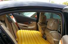 Inflatable Car Mattresses - Road Trips Will Be More Comfortable with This Portable Furniture