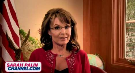 Dedicated Politician TV Channels - The Sarah Palin Channel Gives Viewers Access to All Things Palin